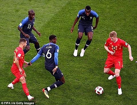 BXH FIFA tháng 9-2018: Pháp, Bỉ chia sẻ ngôi đầu, Việt Nam số 1 Đông Nam Á Ảnh 1