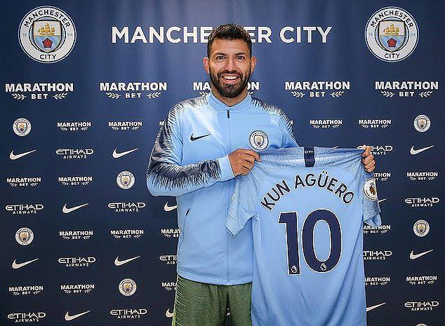Man City 'trói chân' thành công Sergio Aguero Ảnh 1