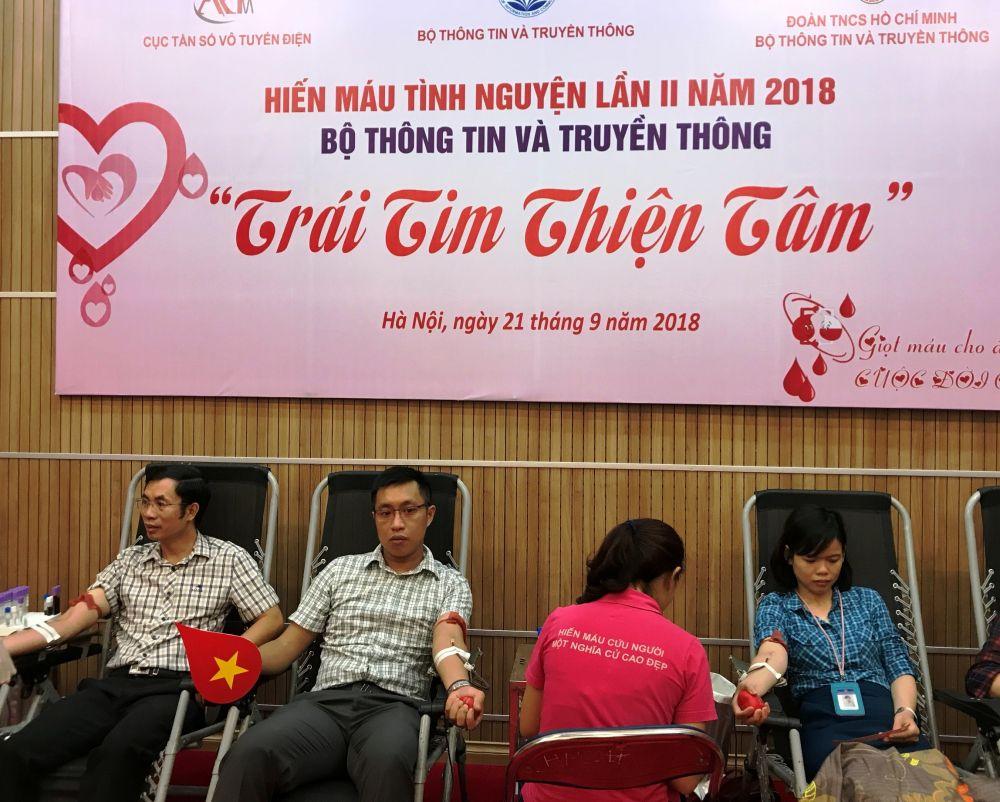 Ngày hội hiến máu của những người trẻ thiện tâm Ảnh 2