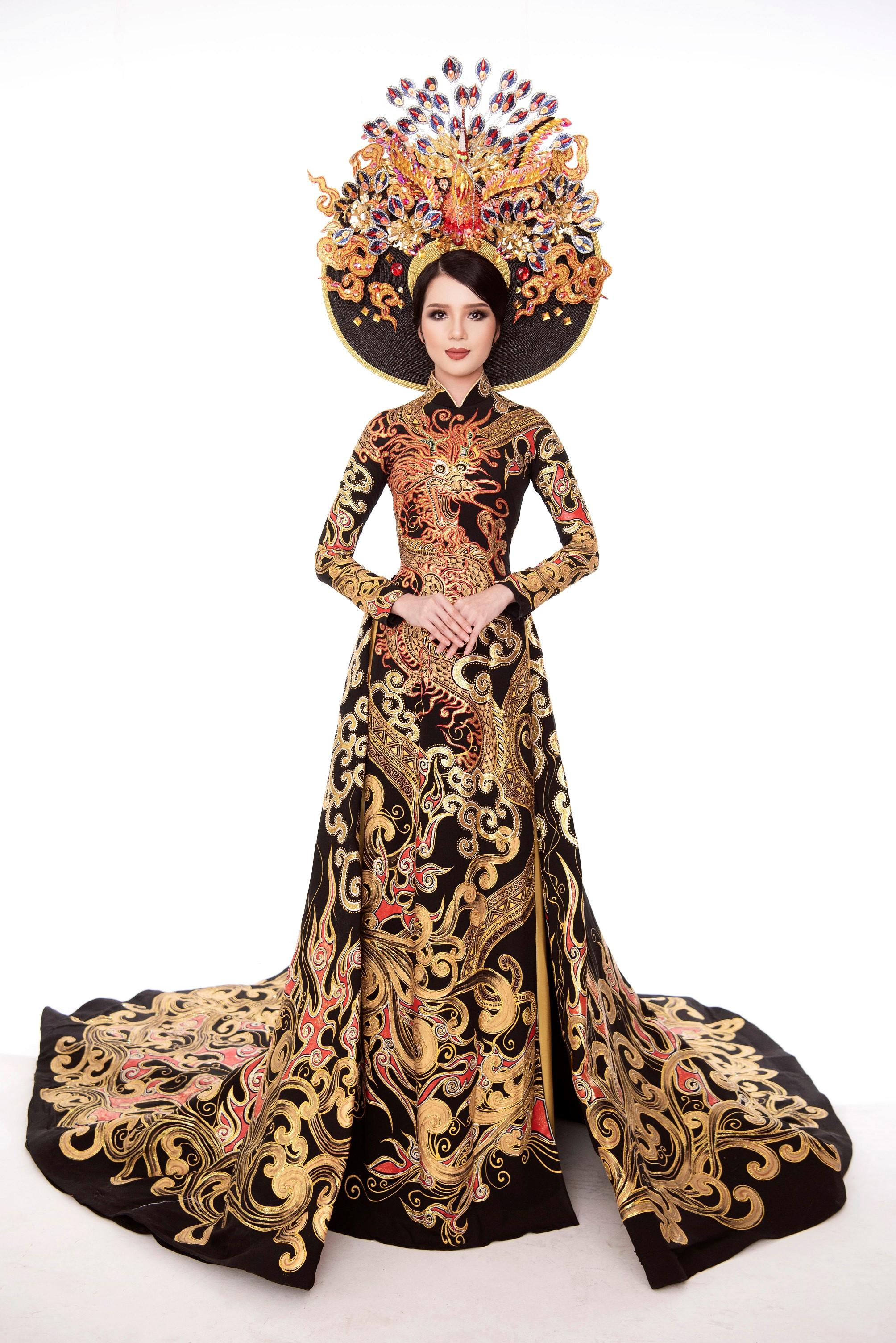 Thúy Vi đạt á quân trang phục dân tộc tại cuộc thi Hoa hậu châu Á-TBD Ảnh 2
