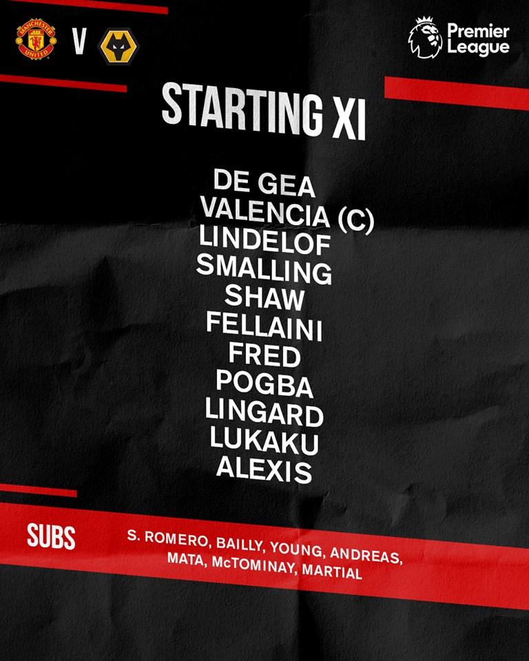 Man Utd vs Wolverhampton: Alexis Sanchez đá chính Ảnh 4