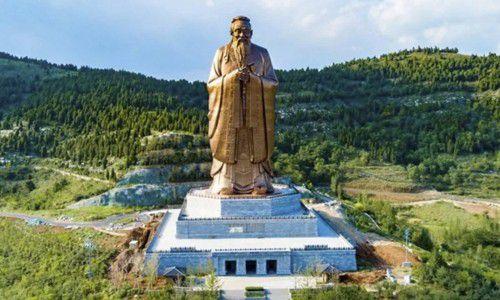 Trung Quốc: Tượng Khổng Tử lớn nhất thế giới chuẩn bị được khánh thành Ảnh 1
