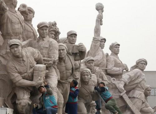 Trung Quốc: Tượng Khổng Tử lớn nhất thế giới chuẩn bị được khánh thành Ảnh 6