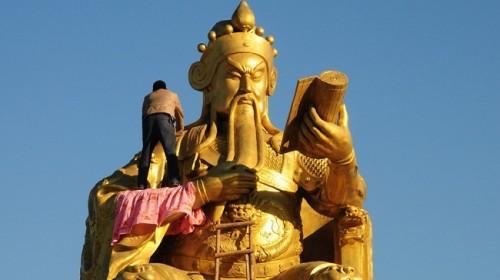 Trung Quốc: Tượng Khổng Tử lớn nhất thế giới chuẩn bị được khánh thành Ảnh 3