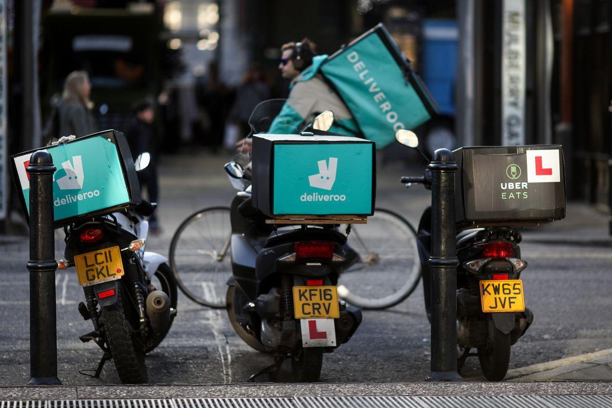 Uber đàm phán mua startup giao hàng thực phẩm Deliveroo Ảnh 1