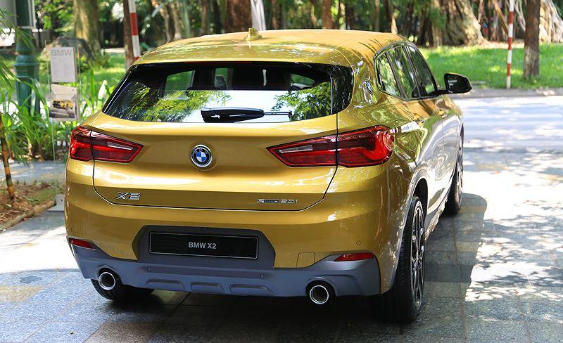 Chi tiết BMW X2 đầu tiên ở Việt Nam Ảnh 4
