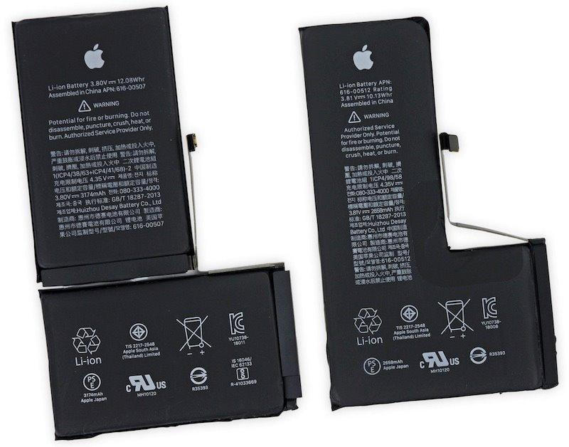 'Mổ bụng' iPhone Xs, Xs Max, phát hiện thanh pin chữ L độc đáo Ảnh 2
