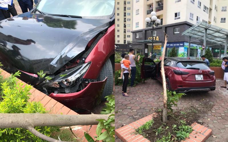 Mazda 3 từng náo loạn Cầu Diễn tiếp tục lãnh hậu quả Ảnh 1