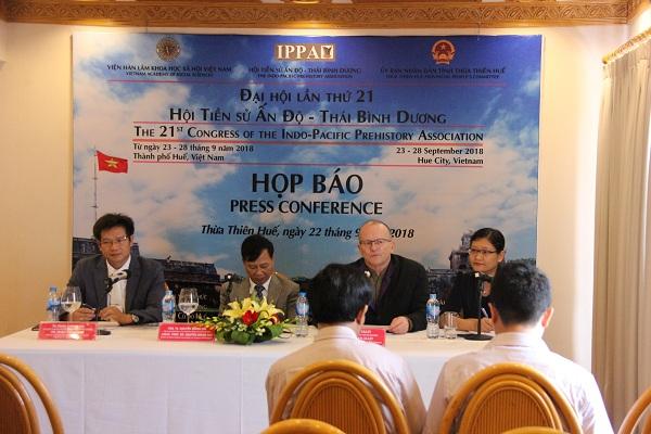 Giới khảo cổ quy tụ về Huế dự Đại hội IPPA lần thứ 21 Ảnh 1
