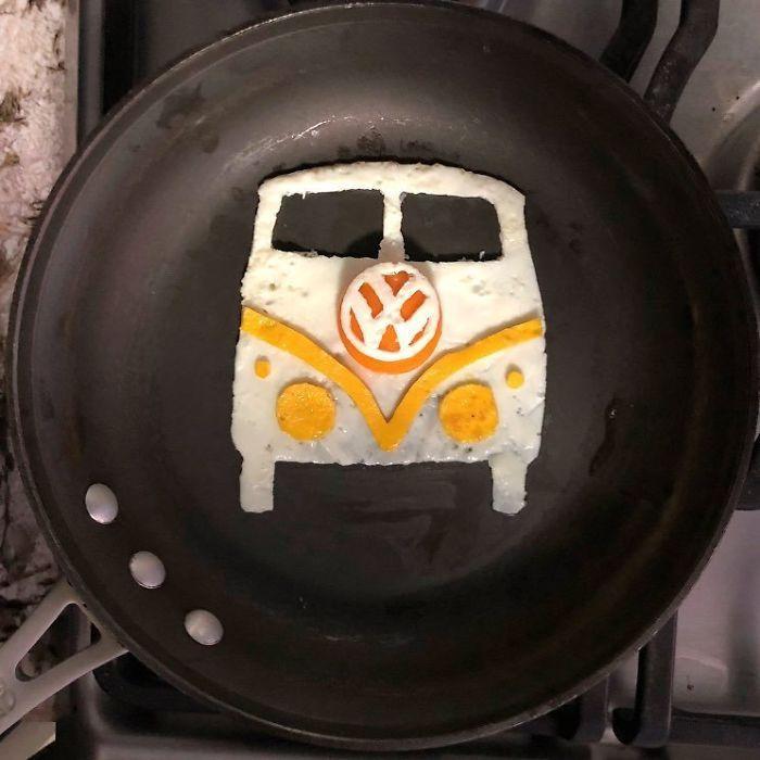 Những bữa sáng nghệ thuật từ trứng dưới bàn tay nam sinh Mexico Ảnh 14