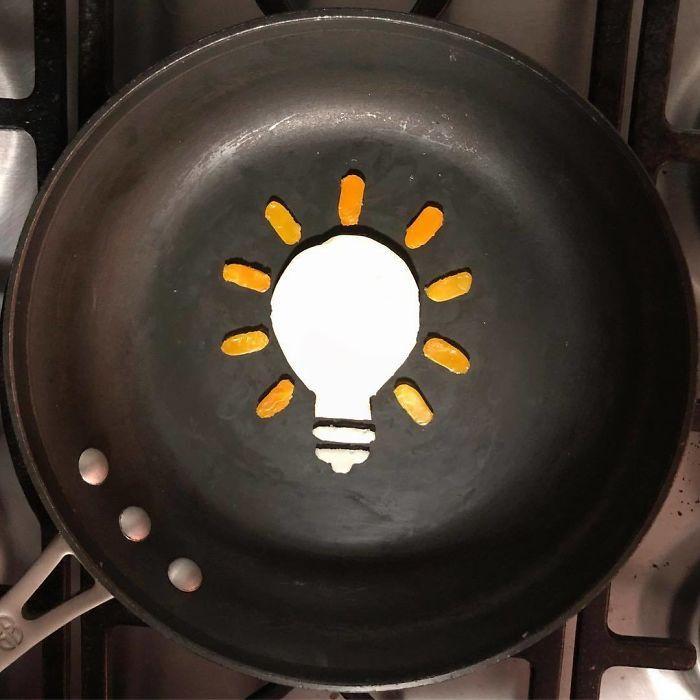 Những bữa sáng nghệ thuật từ trứng dưới bàn tay nam sinh Mexico Ảnh 17