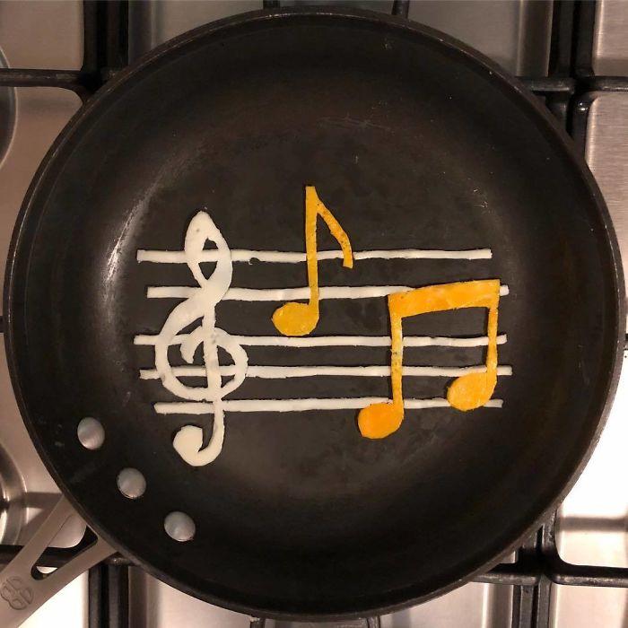 Những bữa sáng nghệ thuật từ trứng dưới bàn tay nam sinh Mexico Ảnh 18