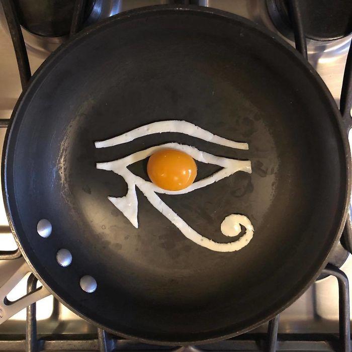 Những bữa sáng nghệ thuật từ trứng dưới bàn tay nam sinh Mexico Ảnh 10