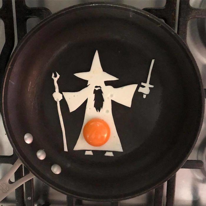 Những bữa sáng nghệ thuật từ trứng dưới bàn tay nam sinh Mexico Ảnh 11