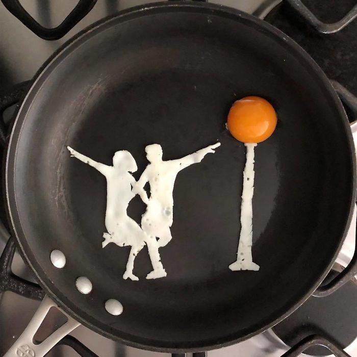 Những bữa sáng nghệ thuật từ trứng dưới bàn tay nam sinh Mexico Ảnh 4
