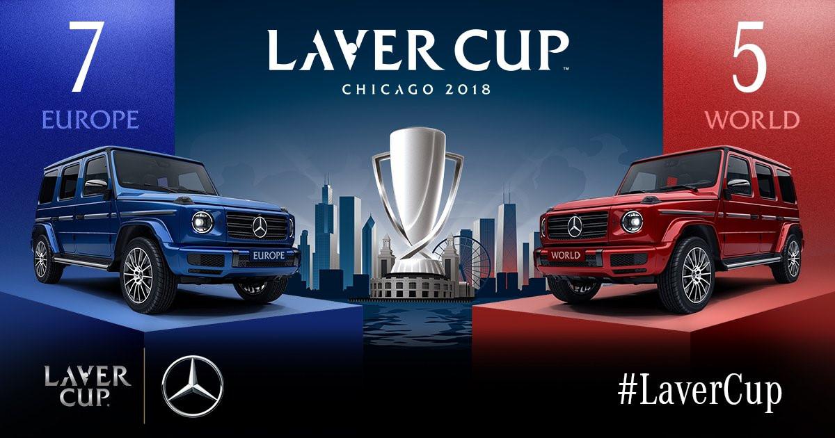 Federer góp công giúp đội châu Âu chiếm ưu thế tại Laver Cup Ảnh 2