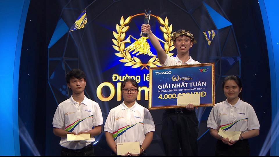 Nam sinh Trần Phú nhất cuộc thi tuần Olympia với 410 điểm Ảnh 2