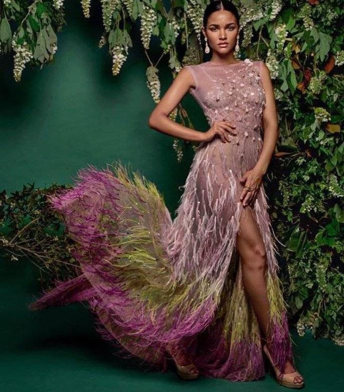 Cận cảnh vẻ đẹp tân Hoa hậu Hoàn vũ Puerto Rico Ảnh 7