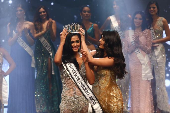 Cận cảnh vẻ đẹp tân Hoa hậu Hoàn vũ Puerto Rico Ảnh 2