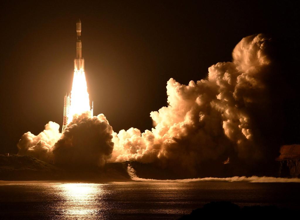 Nhật phóng vệ tinh tiếp tế Trạm không gian quốc tế Ảnh 1