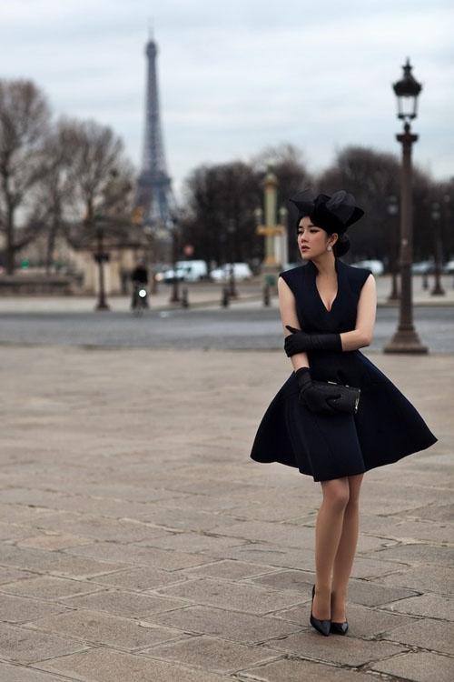 Học cách đeo găng tay sang chảnh đẹp như Lý Nhã Kỳ - Angela Phương Trinh Ảnh 11