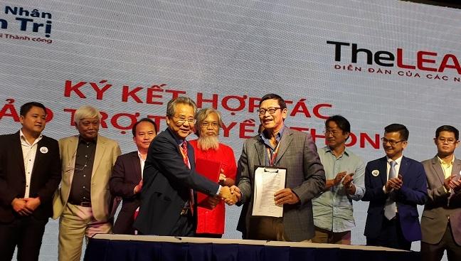 TheLEADER ký kết hợp tác truyền thông với CLB Doanh nhân và quản trị Ảnh 1