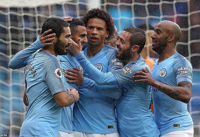 'Vùi dập' Cardiff, Man City tiếp tục áp sát ngôi đầu Ảnh 1