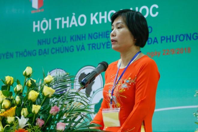 PGS.TS Đỗ Thị Thu Hằng: Với tác động mạnh mẽ của 4.0, nền báo chí Việt Nam đã có nhiều sự thay đổi Ảnh 1