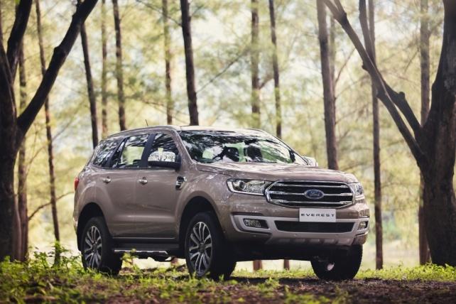 Ford Everest mới lần đầu tiên xuất hiện trong phân khúc SUV tại Việt Nam Ảnh 3