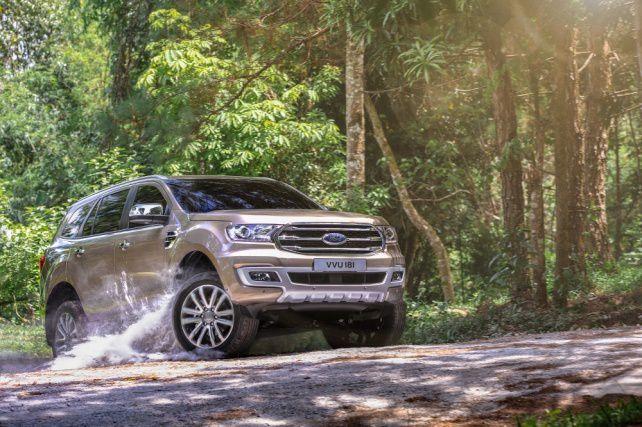 Ford Everest mới lần đầu tiên xuất hiện trong phân khúc SUV tại Việt Nam Ảnh 1