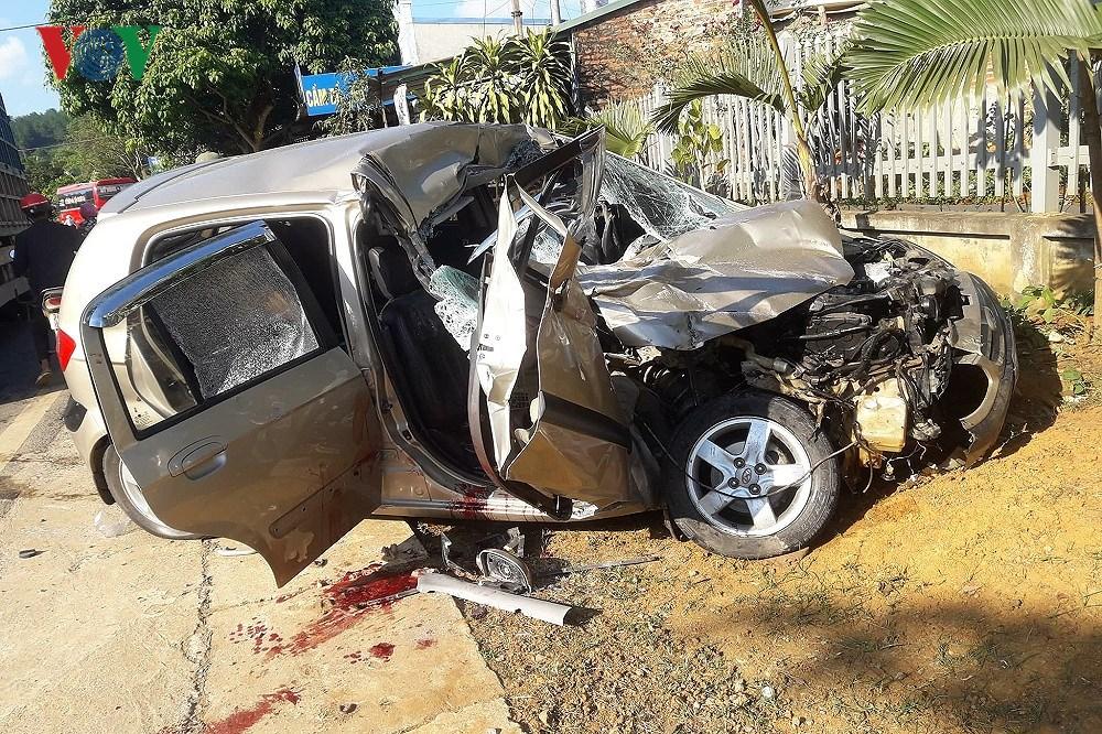 Sơn La: Tai nạn giao thông nghiêm trọng làm 1 người chết, 3 người bị thương Ảnh 1