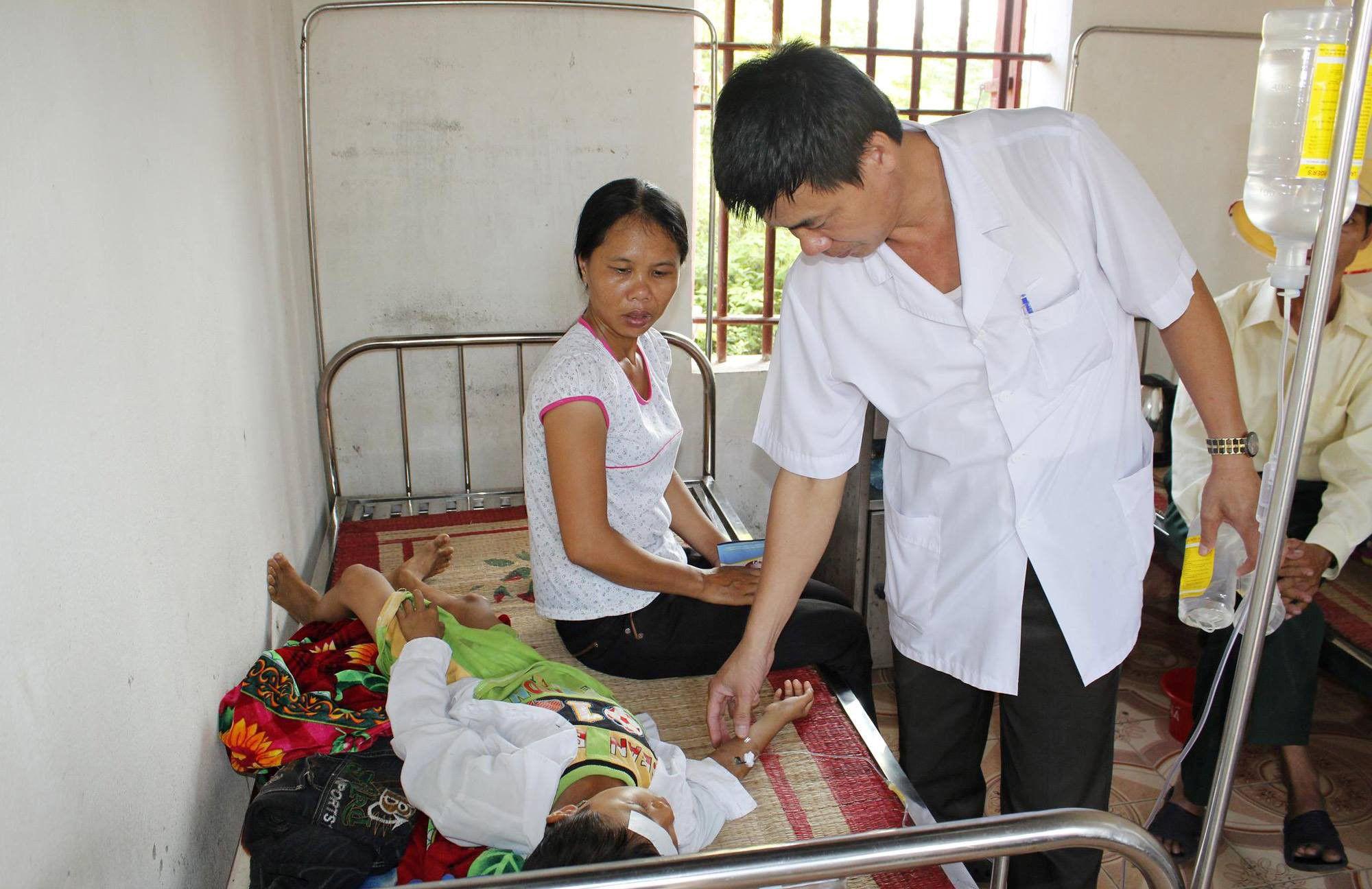 Bùng phát ổ dịch sốt xuất huyết ở Nghệ An Ảnh 1