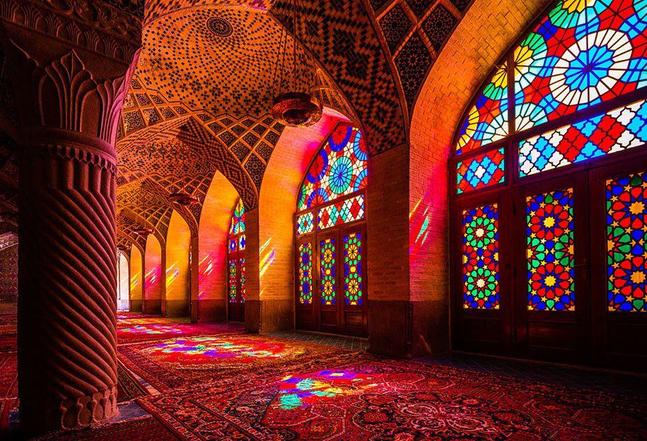 Nhà thờ Hồi giáo rực rỡ nhất thế giới có gì đặc biệt? Ảnh 7