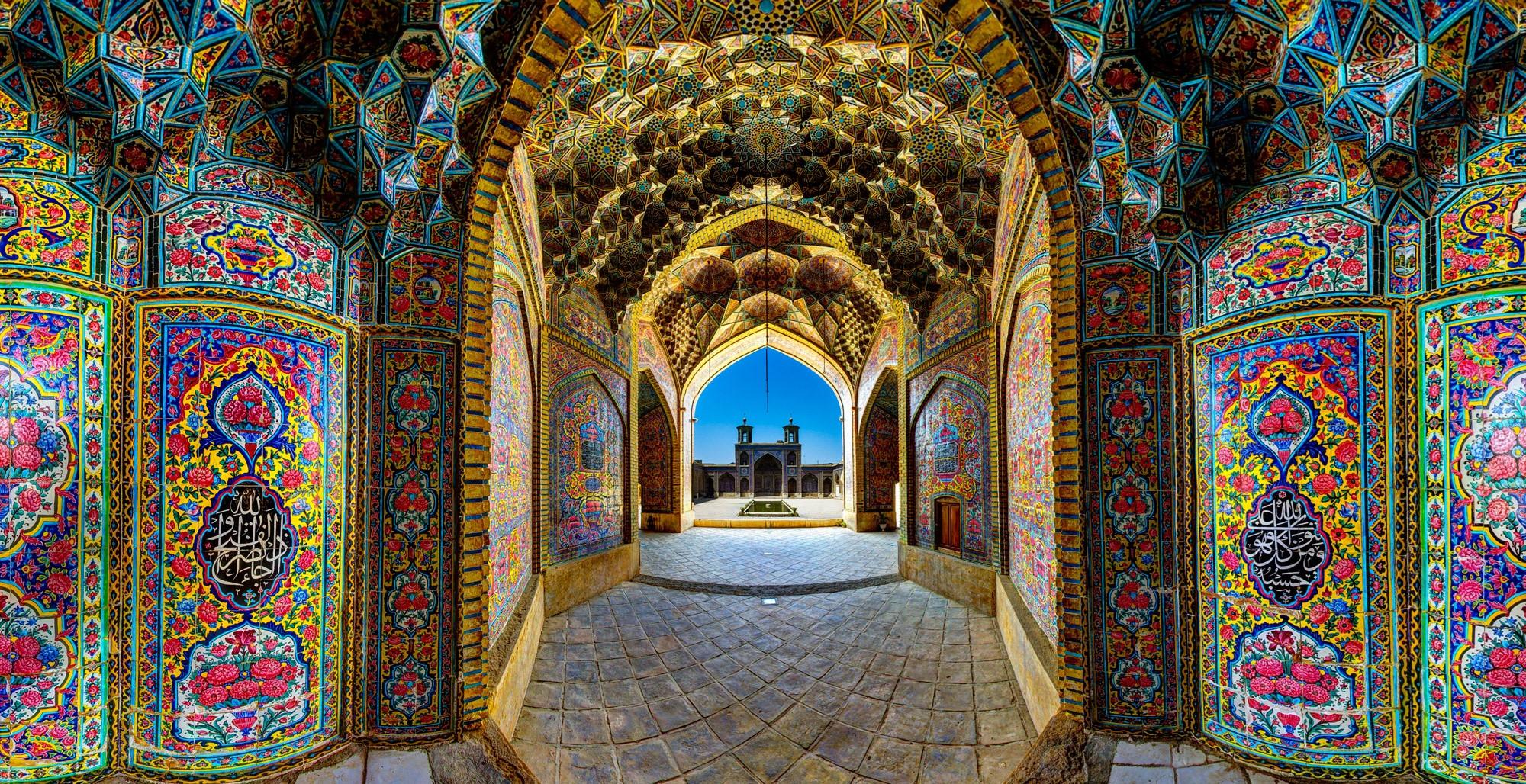 Nhà thờ Hồi giáo rực rỡ nhất thế giới có gì đặc biệt? Ảnh 1