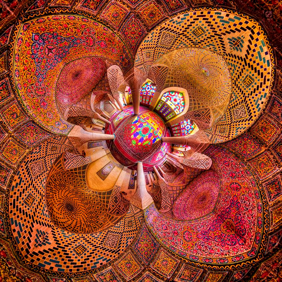 Nhà thờ Hồi giáo rực rỡ nhất thế giới có gì đặc biệt? Ảnh 4