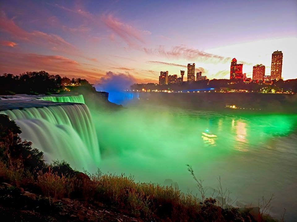 Thác Niagara khác lạ nhìn từ hai phía Mỹ và Canada Ảnh 14