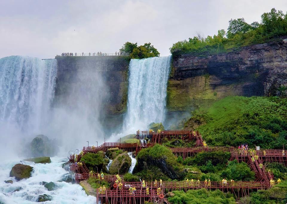 Thác Niagara khác lạ nhìn từ hai phía Mỹ và Canada Ảnh 3