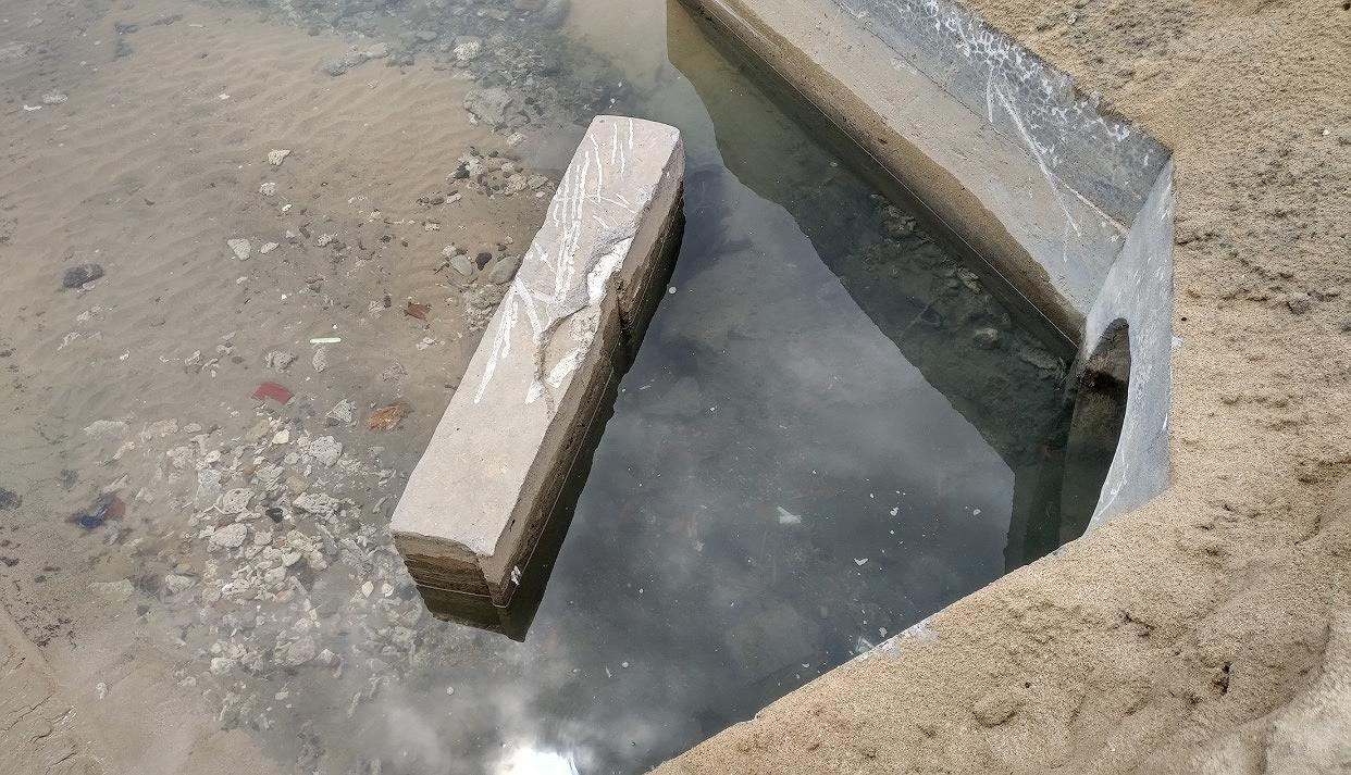 Nước thải bốc mùi hôi thối xả xuống biển Nha Trang Ảnh 2