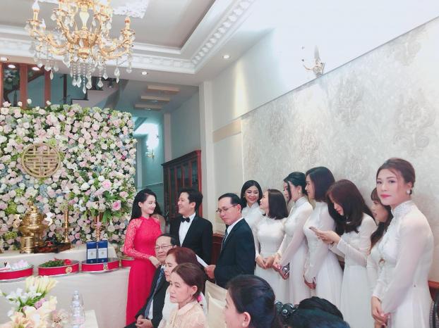Cô dâu Nhã Phương lộ rõ vòng 2 lớn bất thường trong ngày vui Ảnh 6
