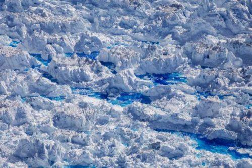 Dấu hiệu càng rõ ràng của biến đổi khí hậu khi sông băng Greenland tan vỡ Ảnh 1
