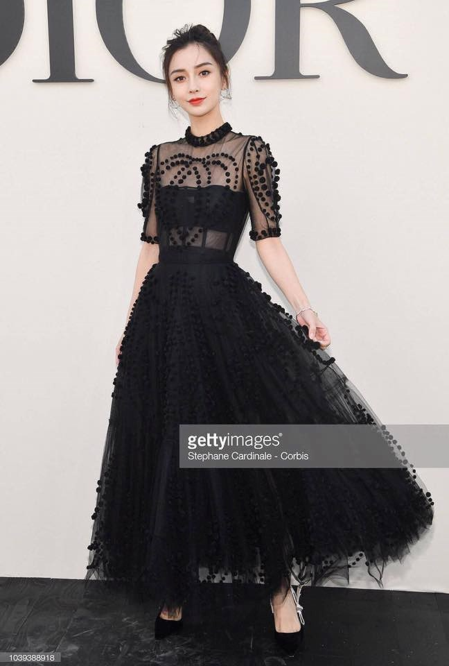 Angelababy đẹp tựa nữ thần giữa kinh đô thời trang Paris Ảnh 5