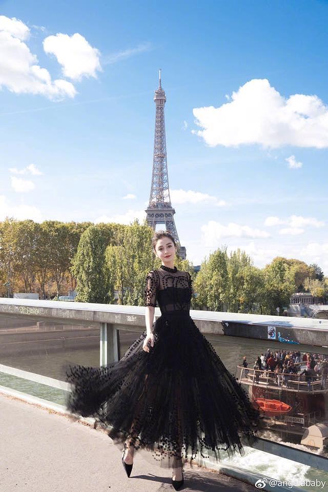 Angelababy đẹp tựa nữ thần giữa kinh đô thời trang Paris Ảnh 8