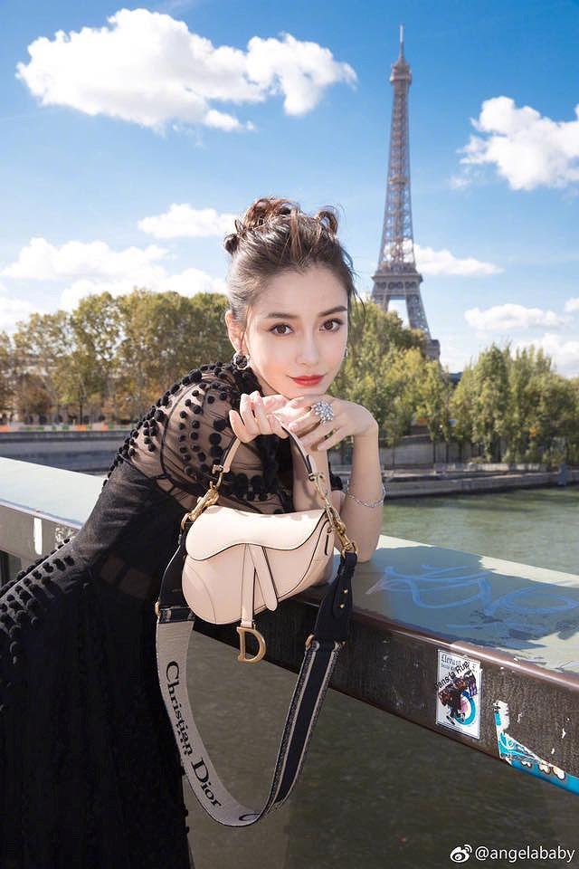 Angelababy đẹp tựa nữ thần giữa kinh đô thời trang Paris Ảnh 9