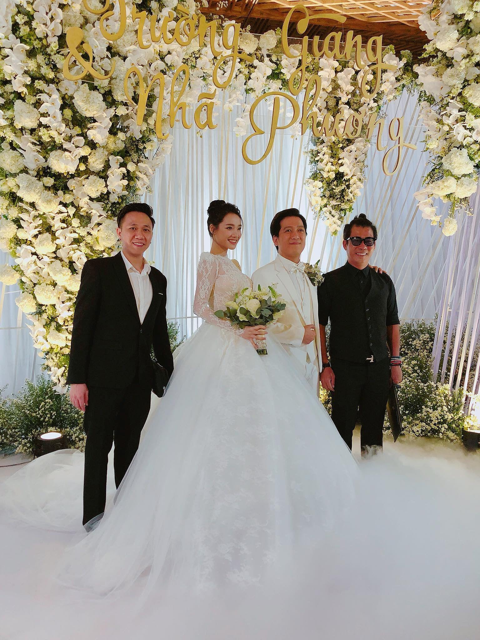 Tiệc cưới đẹp như cổ tích của Nhã Phương, Trường Giang Ảnh 2