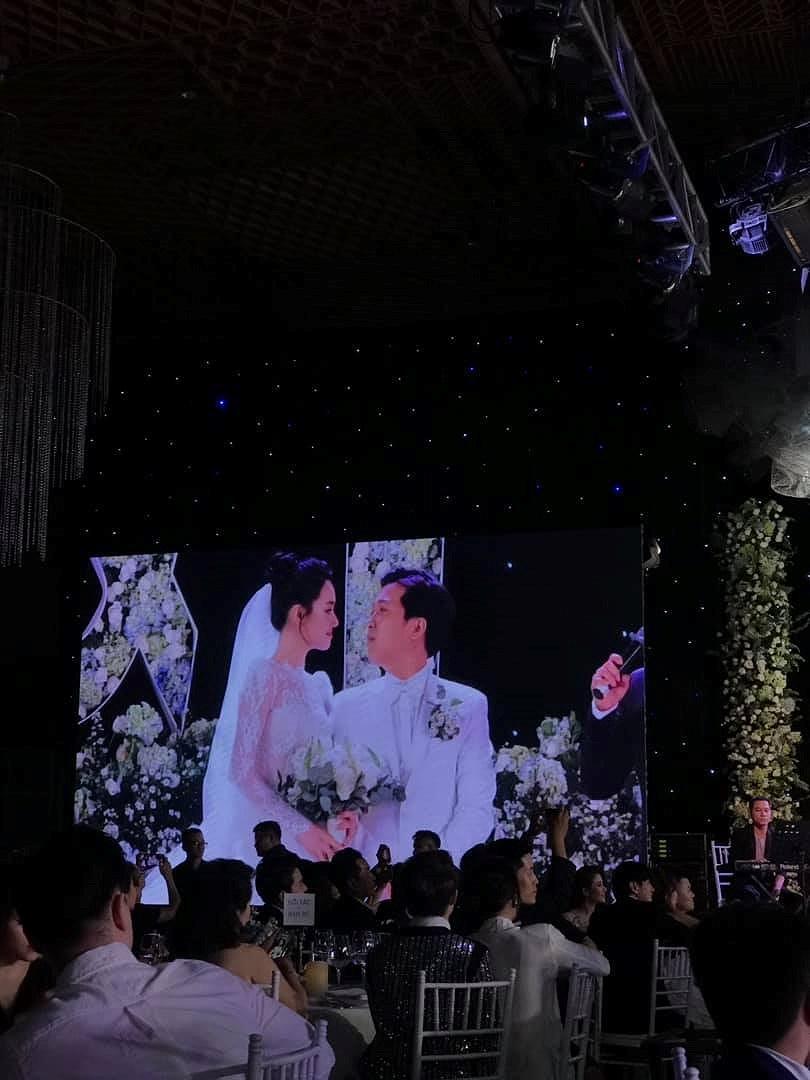 Tiệc cưới đẹp như cổ tích của Nhã Phương, Trường Giang Ảnh 10