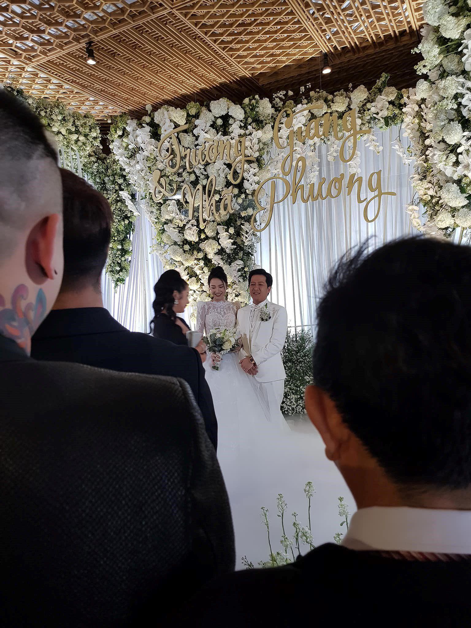 Tiệc cưới đẹp như cổ tích của Nhã Phương, Trường Giang Ảnh 9