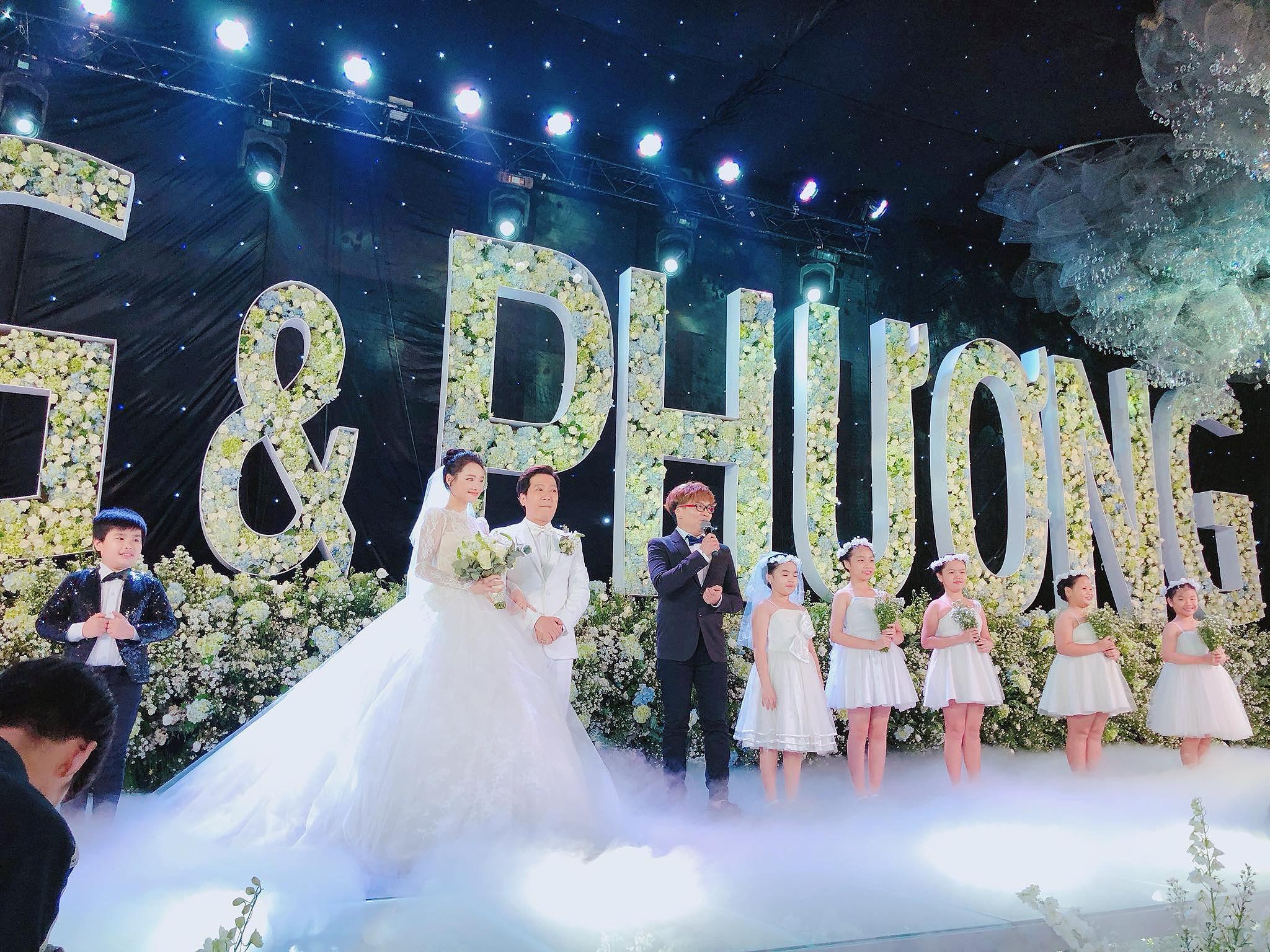 Tiệc cưới đẹp như cổ tích của Nhã Phương, Trường Giang Ảnh 3