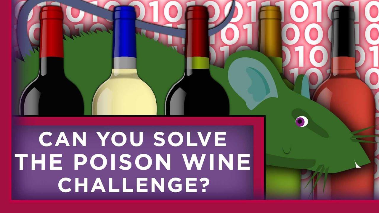 Câu đố tìm thùng rượu độc Ảnh 1