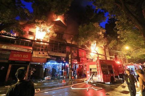 Khởi tố vụ cháy gần viện Nhi:Ông Hiệp liên quan thế nào? Ảnh 1