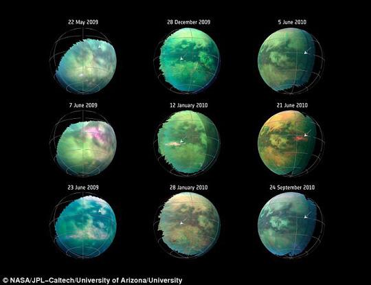 Siêu bão bụi mang dấu hiệu sự sống trên mặt trăng Sao Thổ Ảnh 2